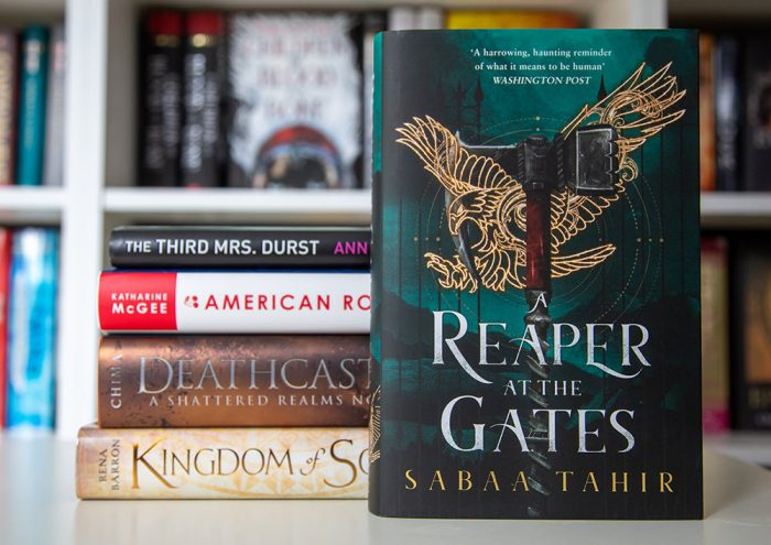 On my TBR list: Reaper at the Gates by Sabaa Tahir