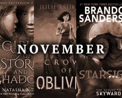 November book releases I'm looking forward to
