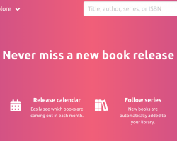 Bookhype – a new site for tracking your reading progress & following new book releases