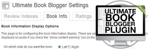 Ultimate Book Blogger Plugin